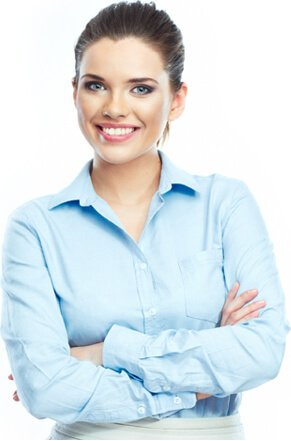 Virtual Assistant Woman